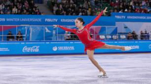 """""""Не могу поверить, что сделала этот прыжок"""". Турсынбаева - о своем историческом """"серебре"""" на чемпионате мира"""