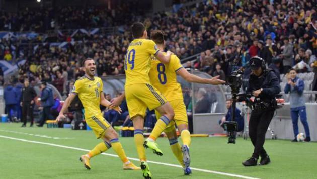 Прямая трансляция матча сборной Казахстана по футболу против России в отборе на Евро-2020
