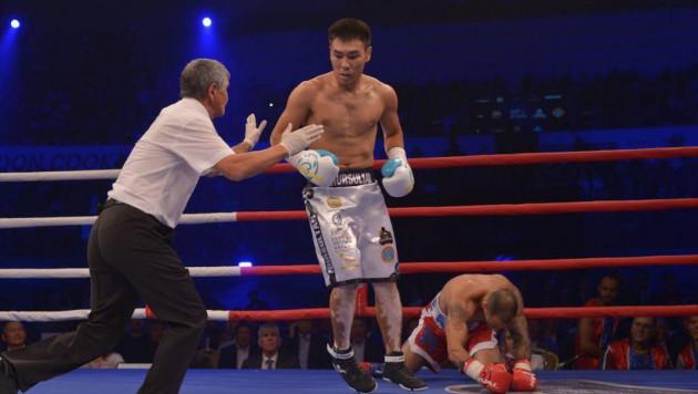"""""""Подготовка была сложнее, чем соперник"""". Казахстанец рассказал о досрочной победе в бою за титул от WBA"""