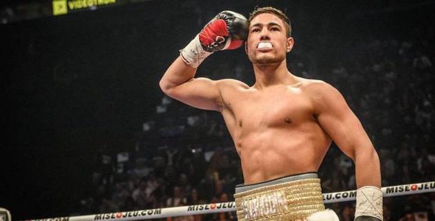Молодежный чемпион WBC из Казахстана впервые выиграл решением и завоевал второй титул в профи