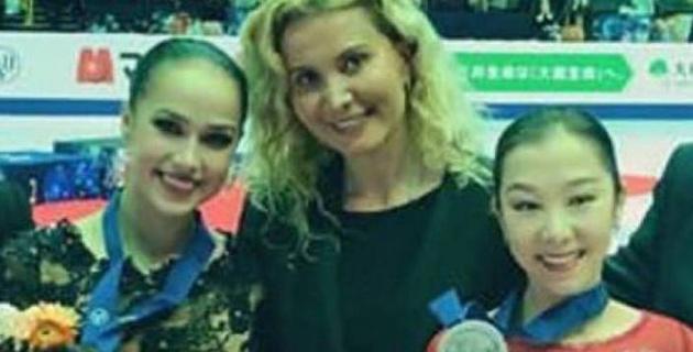 Спасибо Загитовой и Турсынбаевой за лучший подарок всей нашей команде! - Этери Тутберидзе о ЧМ-2019