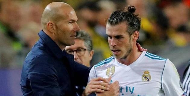 """Зидан после возвращения в """"Реал"""" решил избавиться от Бэйла"""