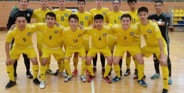 Юношеская сборная Казахстана по футзалу стартовала с поражения в отборе на Евро