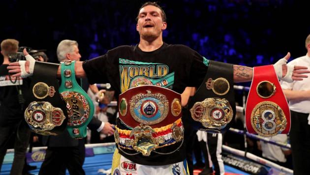 Александр Усик отказался от пояса чемпиона WBA и боя с Лебедевым