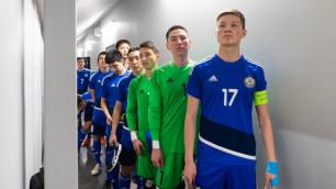 Юношеская сборная Казахстана по футзалу проиграла второй матч подряд в отборе на Евро