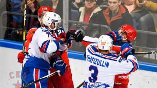 СКА продлил серию проигрышей от ЦСКА до восьми матчей, проиграв все пять игр в сезоне