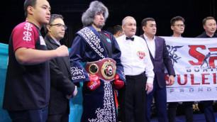 Казахстанцы Ербосынулы и Жанабаев вошли в топ-10 рейтинга WBA после побед в титульных боях