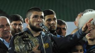 Чемпион UFC Нурмагомедов проведет три боя в рамках турне по Великобритании