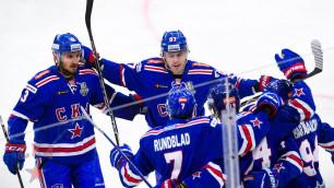 СКА победил ЦСКА и сравнял счет в финале Западной конференции КХЛ