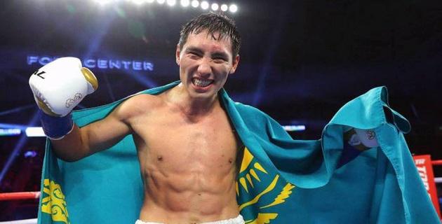 Бой Алимханулы за титулы WBC и WBO покажут в прямом эфире в Казахстане