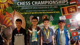 Казахстанские шахматисты завоевали 18 медалей на чемпионате Азии в Шри-Ланке