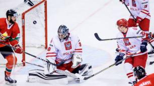 Соперник сборной Казахстана на ЧМ-2019 по хоккею лишь по буллитам победил команду из третьего дивизиона