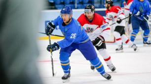 Единственный хоккеист из зарубежного клуба присоединился к сборной Казахстана перед ЧМ