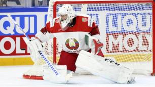 Соперник сборной Казахстана по хоккею лишился вратаря из КХЛ перед чемпионатом мира