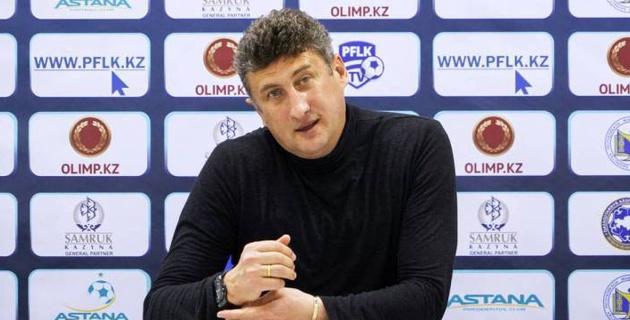 """Главный тренер """"Ордабасы"""" объяснил отсутствие лидеров в матче против """"Астаны"""" и высказался о пенальти"""