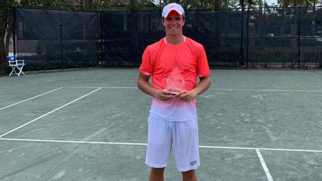 Казахстанский теннисист выиграл турнир в США