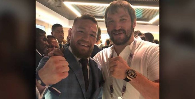 МакГрегор оценил драку Овечкина с нокаутом в матче Кубка Стэнли