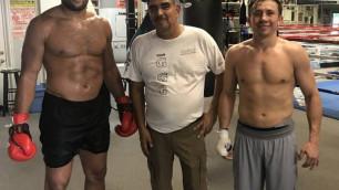 Британский супертяжеловес прокомментировал отказ от услуг тренера Головкина