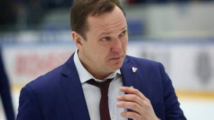 """Соперник """"Барыса"""" по Восточной конференции КХЛ представил нового тренера"""