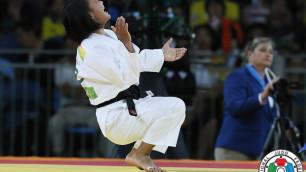 Казахстан завоевал первую медаль на чемпионате Азии по дзюдо