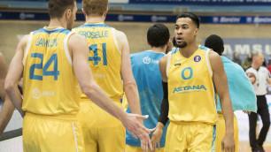 """Баскетболисты """"Астаны"""" отыграли """"-15"""" и выиграли последний домашний матч """"регулярки"""" Единой лиги ВТБ"""