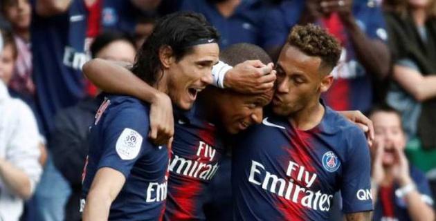 ПСЖ в восьмой раз стал чемпионом Франции