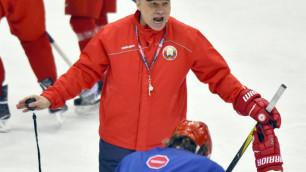 Соперник сборной Казахстана отчислил пятерых хоккеистов перед чемпионатом мира