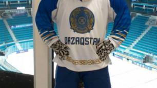 Представлен талисман чемпионата мира-2019 по хоккею в Нур-Султане