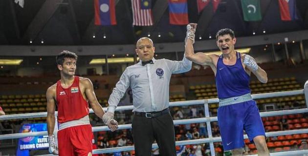 Второй казахстанский боксер вышел в финал чемпионата Азии по боксу