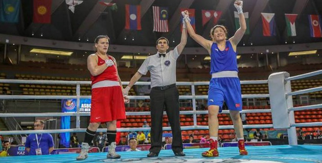 Ни одна казахстанская боксерша не смогла выйти в финал чемпионата Азии
