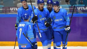 Прямая трансляция матча сборной Казахстана по хоккею против Южной Кореи