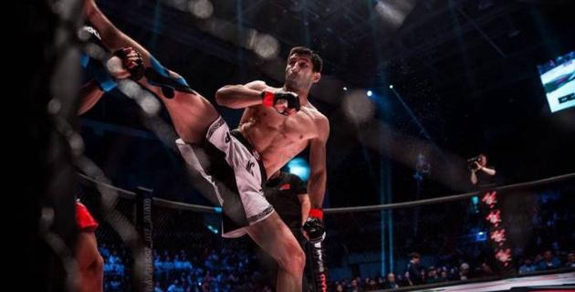 Арман Оспанов ударом коленом в голову нокаутировал соперника и одержал первую победу с 2017 года