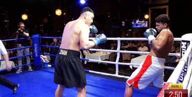 Видео боя, или как казахстанский супертяж за два раунда расправился с соперником с 16 нокаутами