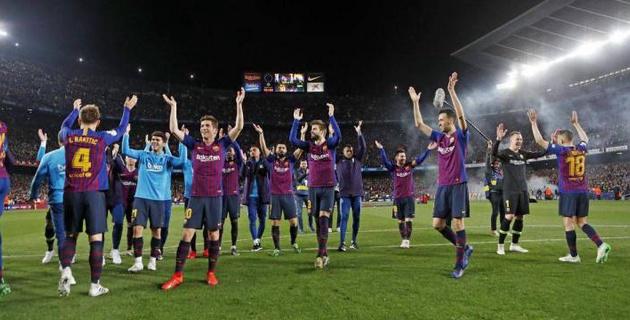 """Гол Месси помог """"Барселоне"""" досрочно стать чемпионом Испании по футболу"""