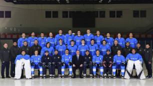 Стал известен окончательный состав сборной Казахстана по хоккею на ЧМ в Нур-Султане