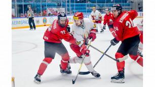 Главный фаворит отыгрался с 0:2 и стартовал с победы на ЧМ по хоккею в Нур-Султане
