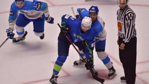 Сборная Казахстана по хоккею стартовала с победы над Словенией на домашнем чемпионате мира