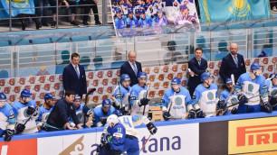 Видео матча, или как сборная Казахстана по хоккею победила Словению на старте ЧМ-2019
