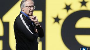 Клуб Еркебулана Сейдахмета уволил главного тренера