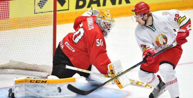 Главный фаворит одержал вторую подряд победу на ЧМ по хоккею в Нур-Султане