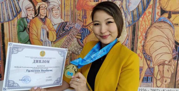 Шахматистка Гулисхан Нахбаева стала семикратной чемпионкой Казахстана