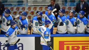 Прямая трансляция второго матча сборной Казахстана на домашнем ЧМ-2019 по хоккею