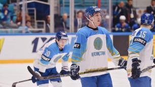Стал известен состав сборной Казахстана по хоккею на второй матч домашнего ЧМ-2019