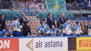 Сборная Казахстана по хоккею одержала вторую победу на домашнем ЧМ-2019 в матче с двумя отмененными шайбами