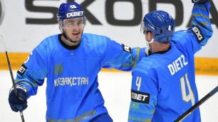 Прямая трансляция третьего матча сборной Казахстана на домашнем ЧМ-2019 по хоккею