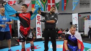 11 побед в 12 боях одержала сборная Казахстана по ММА на чемпионате Азии в первый день