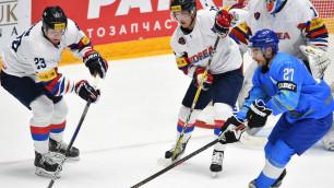 Южная Корея после поражения от Казахстана сенсационно проиграла аутсайдеру ЧМ-2019 по хоккею