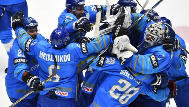 Видеообзор матча, или как Казахстан победил Беларусь и вышел на первое место на ЧМ-2019 по хоккею