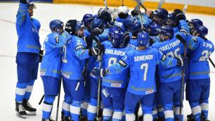 Видеообзор матча, или как сборная Казахстана по хоккею одержала пятую подряд победу на ЧМ-2019