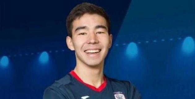 Казахстанский футболист оформил дубль в зарубежном клубе